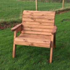 Wooden Large Chair